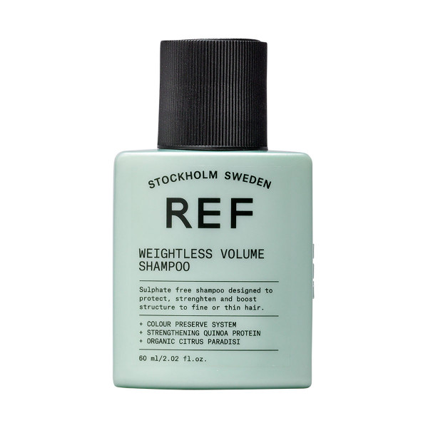 REF Weightless Volume Shampoo 60 ml